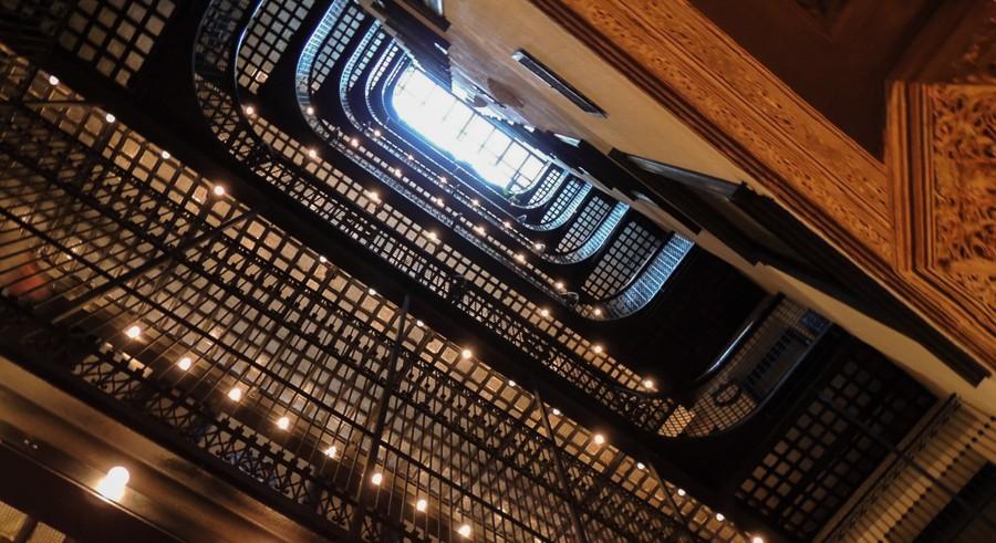 Walk though the Brewster Apartments during Open House Chicago. - JOHN W. IWANSKI