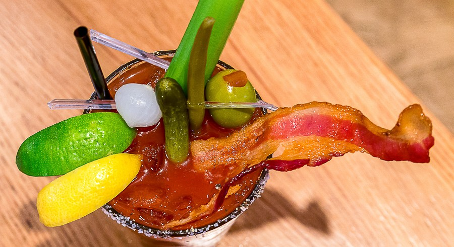 Cure your weekend hangover at Bloody Mary Fest on Sun 10/16. - SAM COX