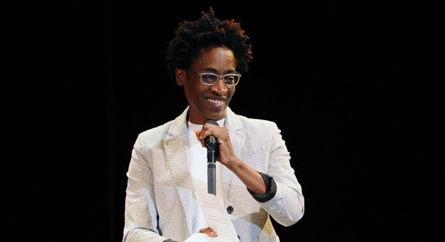 Jacqueline Woodson discusses Another Brooklyn on Wed 10/19. - GETTY IMAGES FOR THE STELLA ADLE