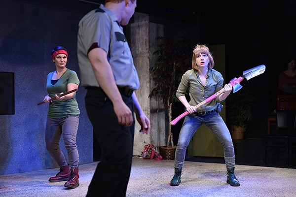 Factory Theater's Zombie Broads - MICHAEL COURIER