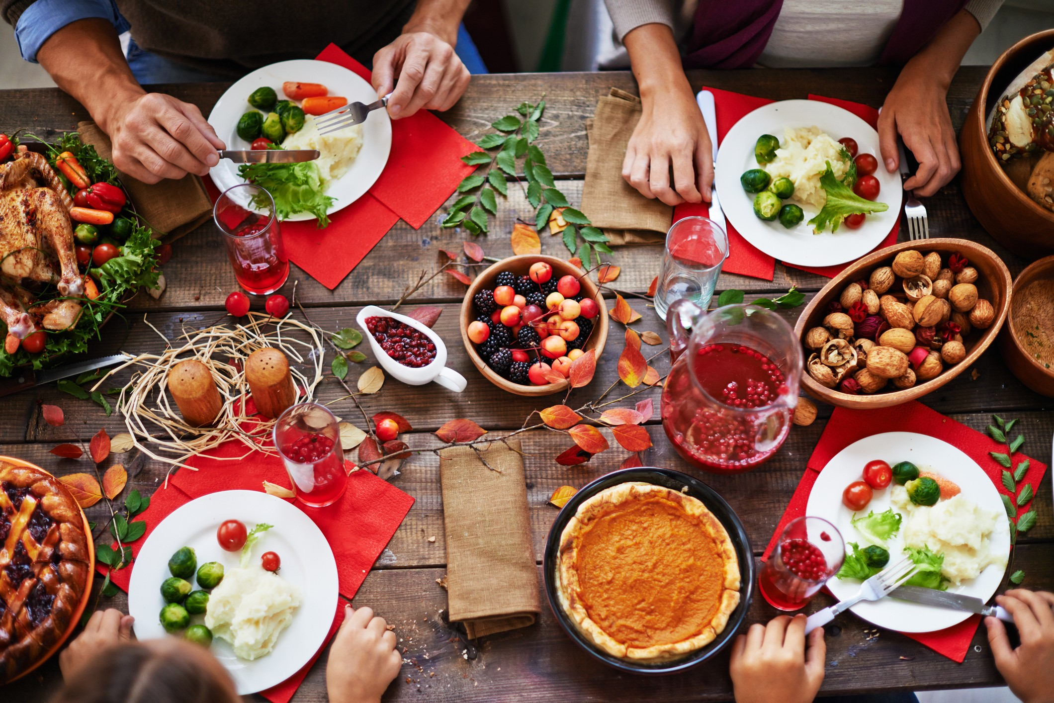 Click To Enlarge Enjoy A Thanksgiving Feast At Reader Recommended Restaurants Around The City Getty Images