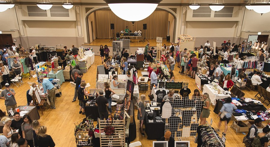 Shop for local goods at the Reader's Made in Chicago Holiday Market. - CHRIS HURD PHOTOGRAPHY
