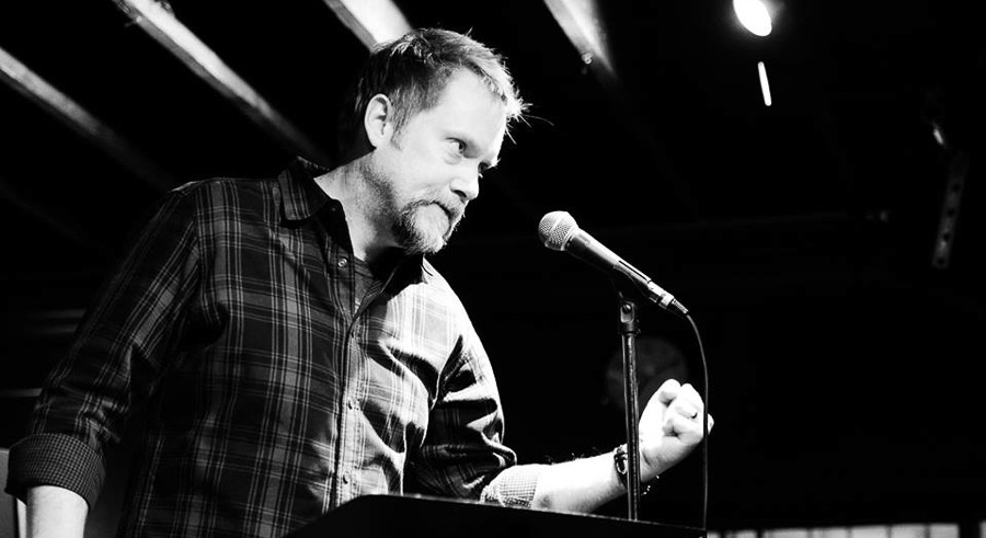 Ian Belknap hosts a composition competition at the Hideout on Tue 1/10. - COURTESY WRITE CLUB CHICAGO