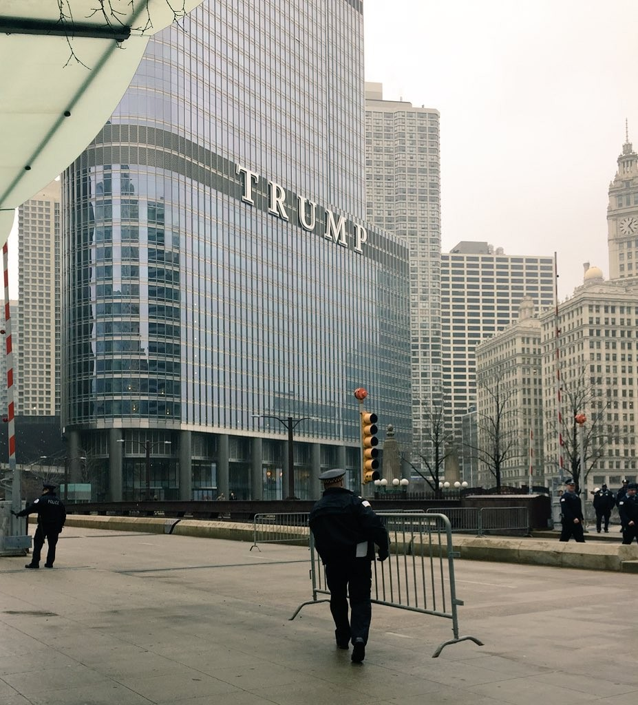 trump tower security booted a journalist from the building on