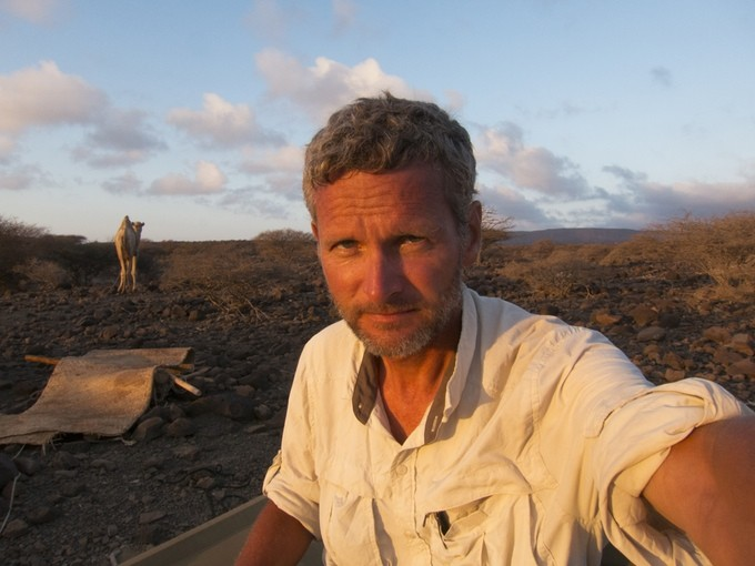 Salopek, a former Chicago Tribune correspondent, is walking out of Africa, through Asia, and down through the Americas, tracing humanity's own first journey. - KICKSTARTER