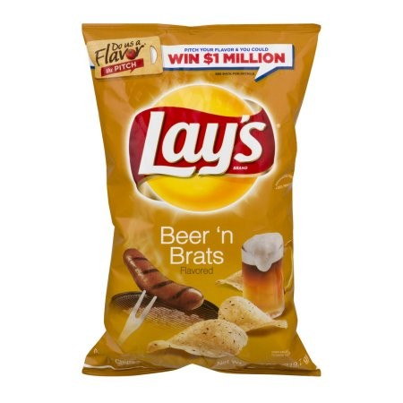 """Like something that had died and begun fermenting under the sink"" is how one Reader staffer described the flavor of Lay's new Beer 'n Brats potato chips."