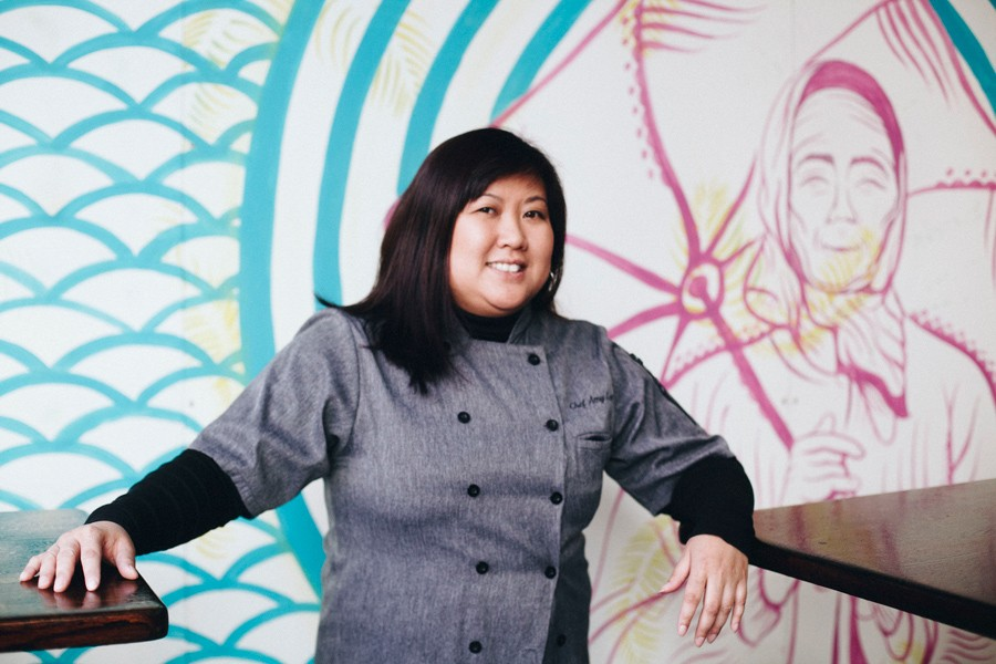 Amy Le, founder and former president of the Illinois Food Truck Association and owner of the Loop lunch spots Saucy Porka and Spotted Monkey - DANIELLE A. SCRUGGS