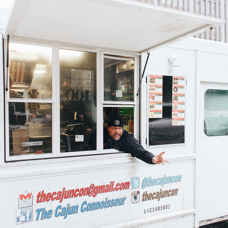 Cajun Connoisseur truck owner Kyle Kelly plans to open a brick-and-mortar location soon because he doesn't believe it's possible to survive as a food truck in Chicago without also doing catering or operating a storefront restaurant. - DANIELLE A. SCRUGGS