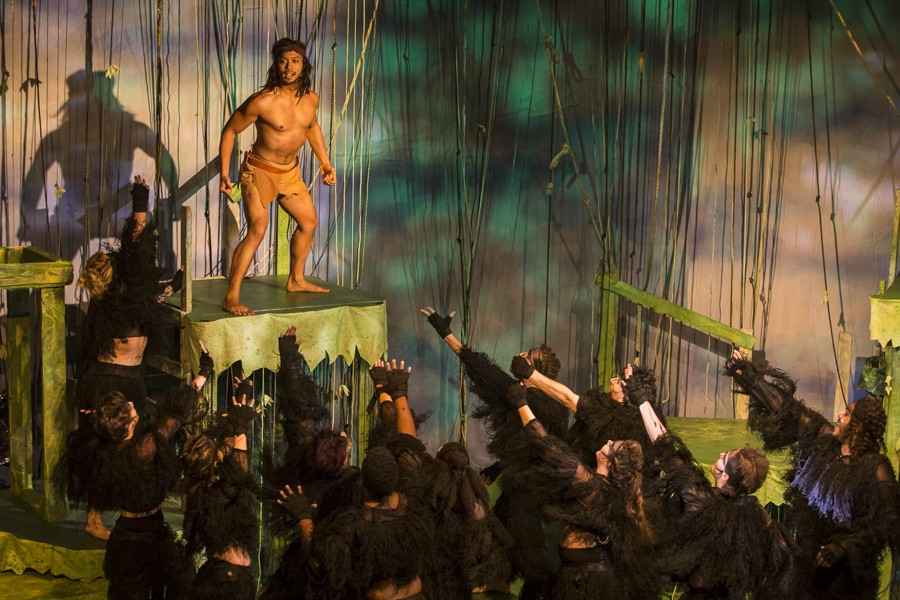 Jomar Ferreras in NightBlue's Disney's Tarzan - DREW PETERSON