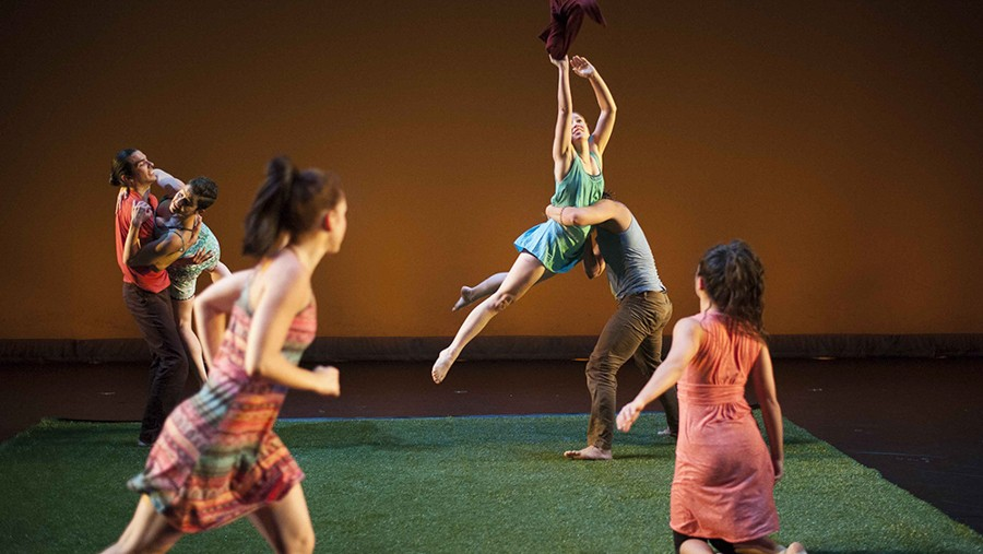 Hedwig Dances presents Of Time and Tide at the Ruth Page Center for the Arts. - KELLY D. SWEDICK