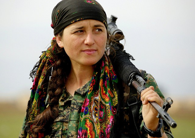 A Kurdish YPG fighter - KURDISHSTRUGGLE/FLICKR