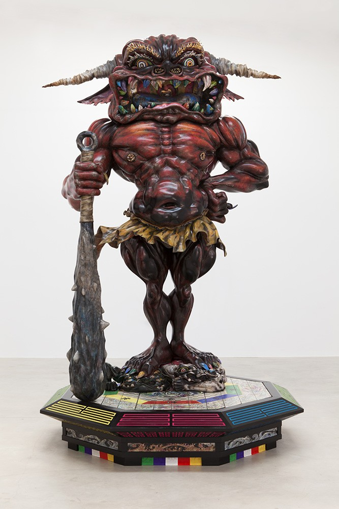who s the octopus in takashi murakami s the octopus eats its own