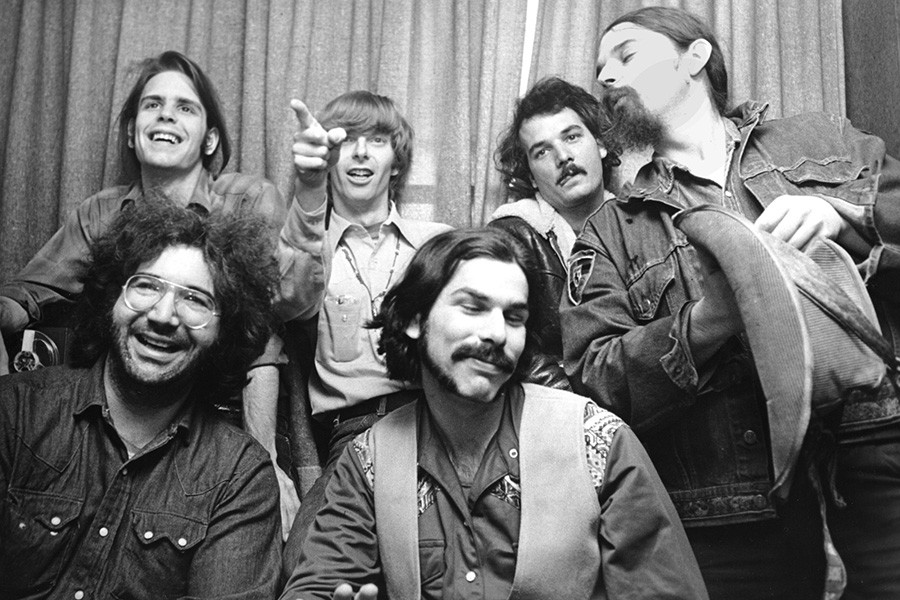 The Grateful Dead in 1970 - CHRIS WALTER
