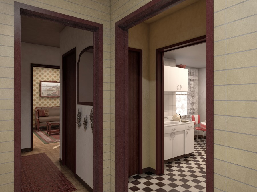 The National Public Housing Museum will re-create apartments of three families who resided in the Jane Addams Homes. - LANDON BONE BAKER ARCHITECTS