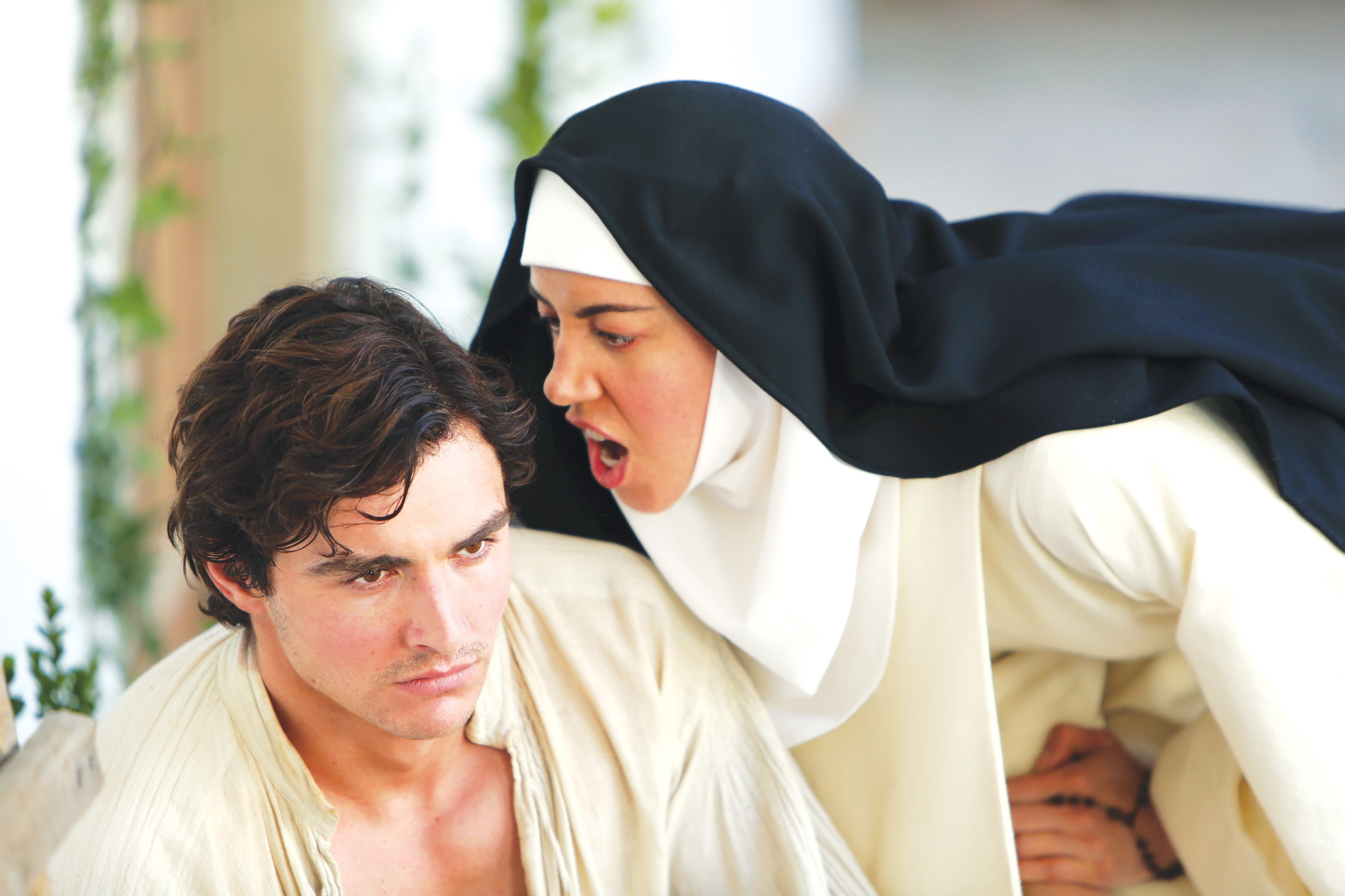 Alison Brie Sex Scandal medieval nuns own their pleasure in the little hours | movie