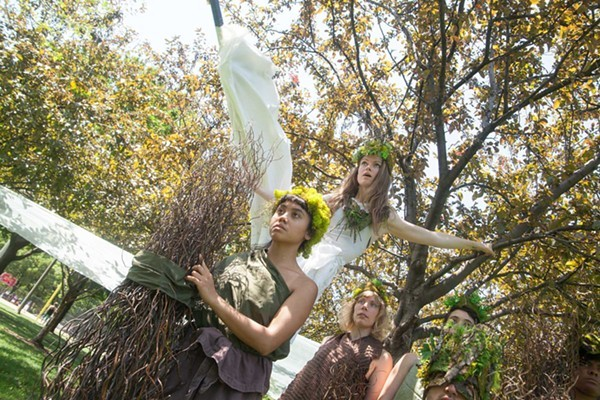 Walkabout Theater's A Persephone Pageant - EVAN BARR