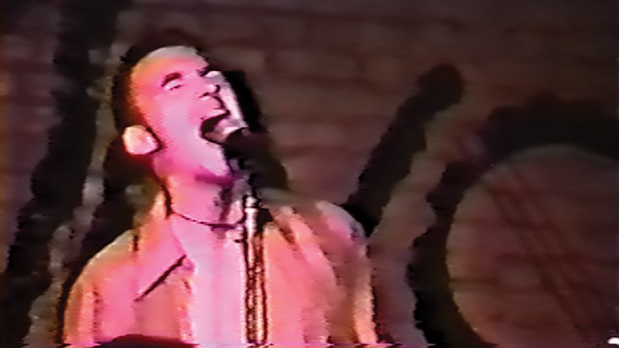 A vintage video still of Jawbreaker guitarist-vocalist Blake Schwarzenbach from Don't Break Down - COURTESY THE FILMMAKERS