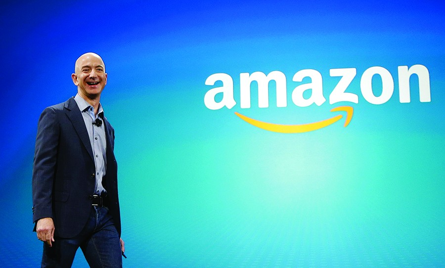 "Basically, Chicago is vying for the ""right"" to help pay Amazon CEO Jeff Bezos, one of the world's richest men, to build a corporate headquarters. - AP"
