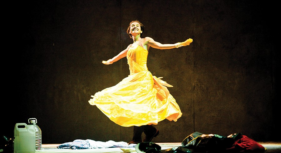 Mexico's Teatro Línea de Sombra's brings Amarillo to the Yard at Chicago Shakespeare in October. - SOPHIE GARCIA