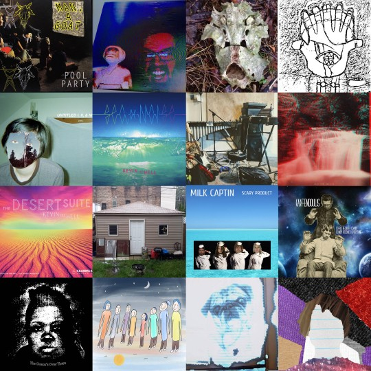 Some of the many, many albums released by Chicago label Grandpa Bay