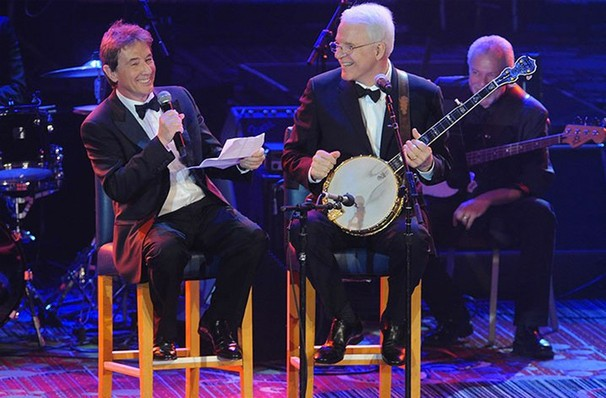 Martin Short and Steve Martin are best buds, and their comedy will reflect that at the Chicago Theatre Saturday 10/7. - COURTESY OF CHICAGO THEATRE