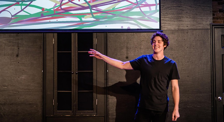 Matthew Hoelter in Witi, an Interactive Show - COURTESY THE ARTIST