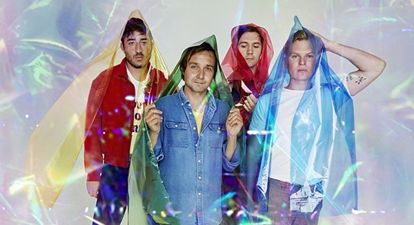 Grizzly Bear plays from its newest album, Painted Ruins, at the Riviera Theatre on Wednesday 11/29. - TOM HINES