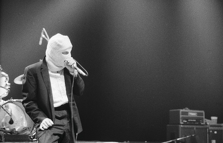 David Yow at the Vic in 1994 - BOBBY TALAMINE