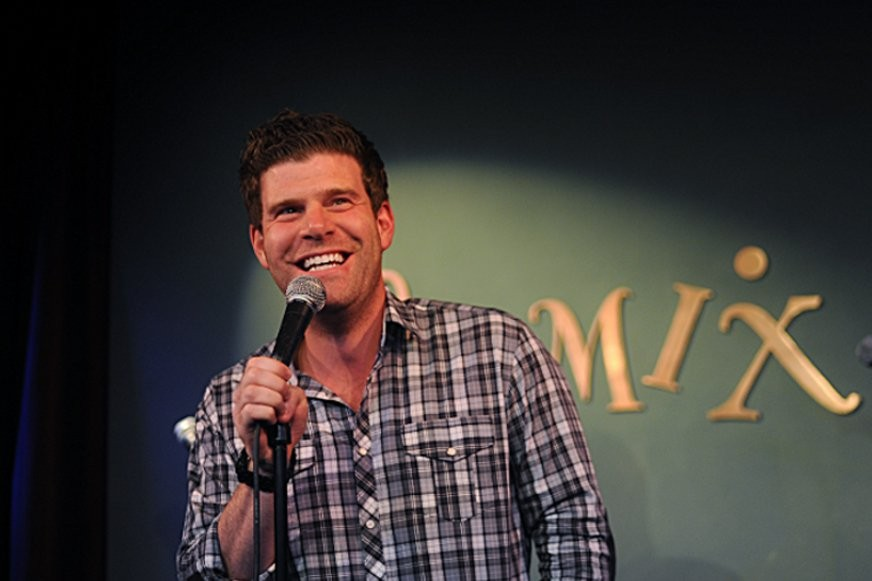 Steve Rannazzisi, who costars on the popular TV show The League, takes the stage at Zanies Sun 12/10. - COURTESY OF ZANIES