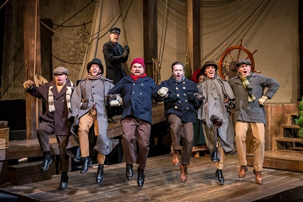 The Christmas Schooner, at the Mercury Theater - BRETT A. BEINER