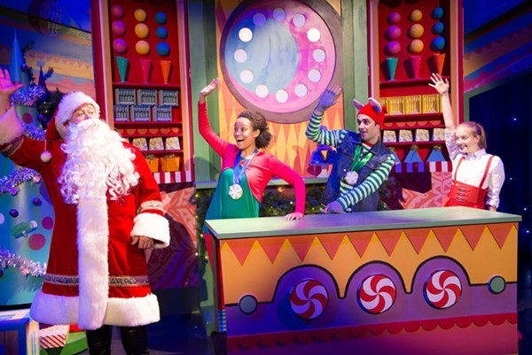 'Twas the Night Before Christmas, at Broadway Playhouse - COURTESY EMERALD CITY THEATRE
