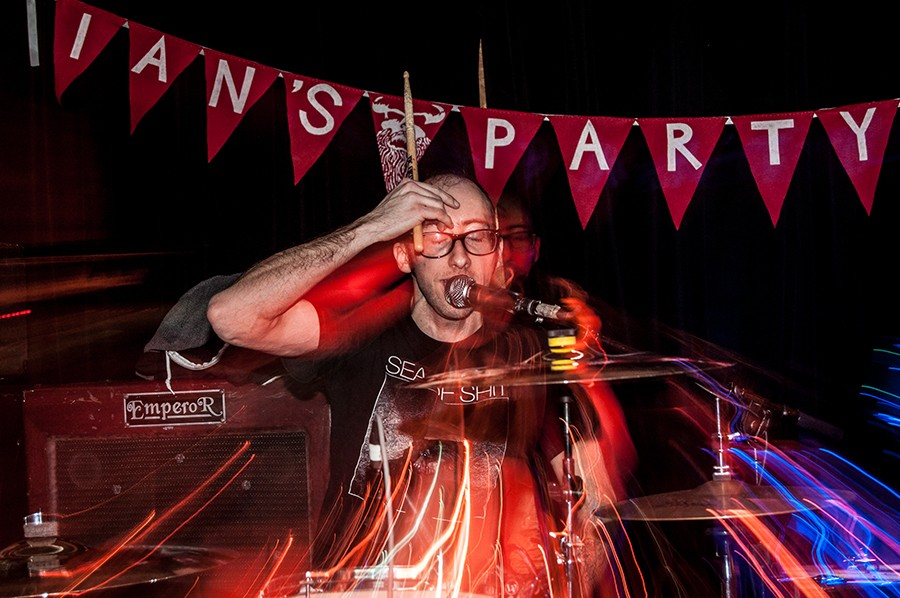 Sass Dragons play an Ian's Party show at Township in 2014. - PATRICK HOUDEK
