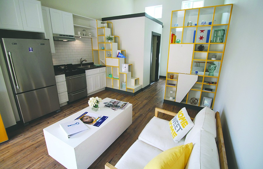 tiny house chicago. The Winning Tiny Homes Competition Design Was Built During A Tiny-homes Summit On University Of Illinois At Chicago Campus In April 2016 And House G