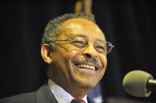 Roland Burris, the man who got Barack Obama's Senate seat