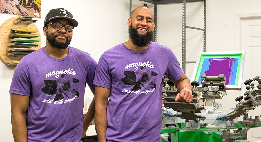 Magnolia Screen Printing wants to provide jobs for the young