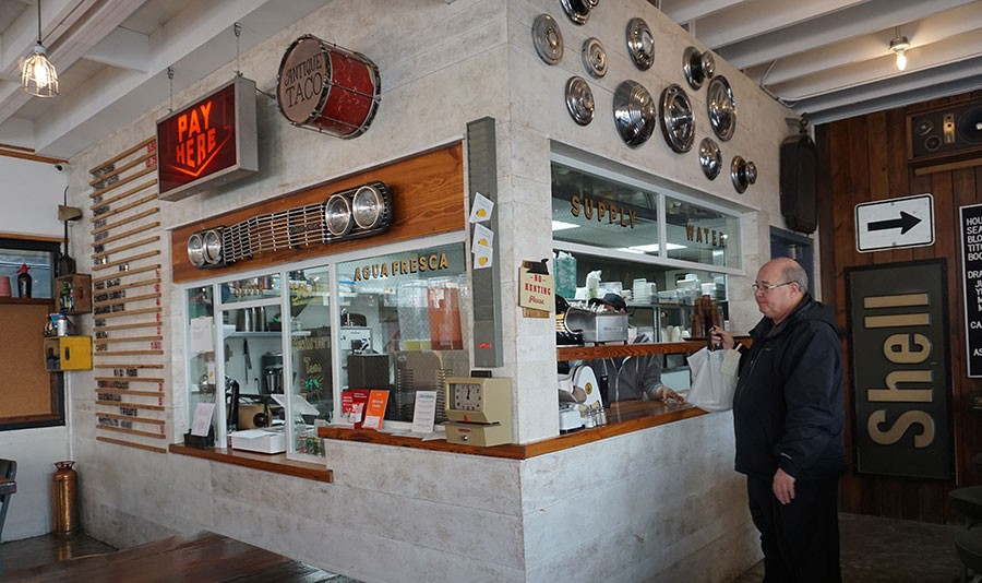 Antique Taco reopened for business after vandals struck. - CHICAGO READER/ASHLEY MIZUO