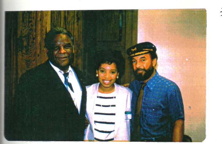 Mayor Harold Washington dropped in for a visit in the 80s. - TASTE
