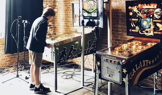 The Bottom Lounge recently hosted a pinball championship. - RYAN SMITH