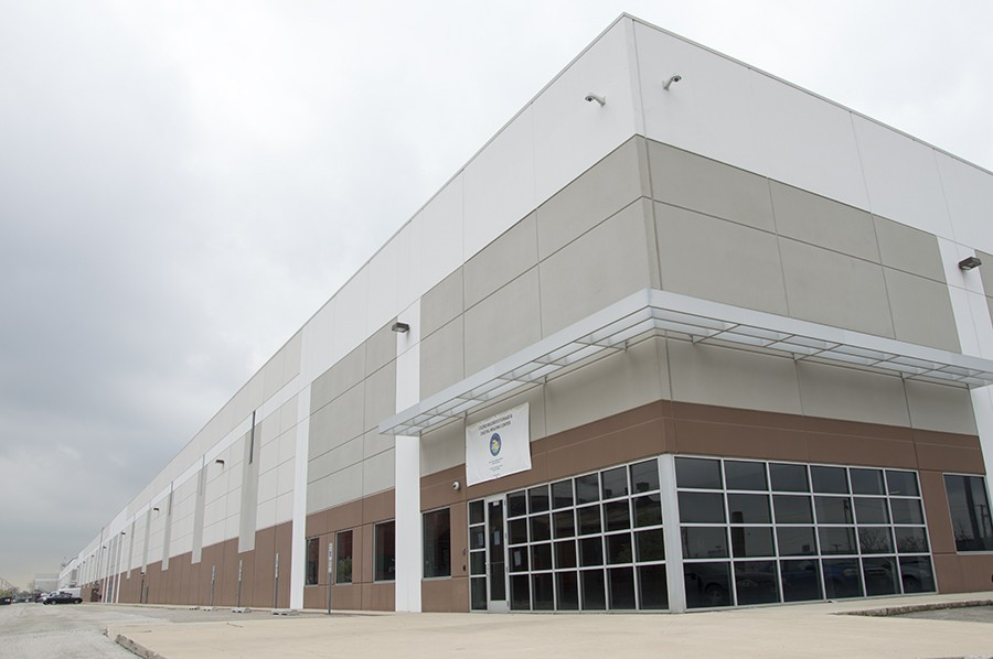 """Cook County opened a """"state-of-the-art"""" warehouse for more than a million boxes of court records in Cicero in 2014. - MAYA DUKMASOVA"""
