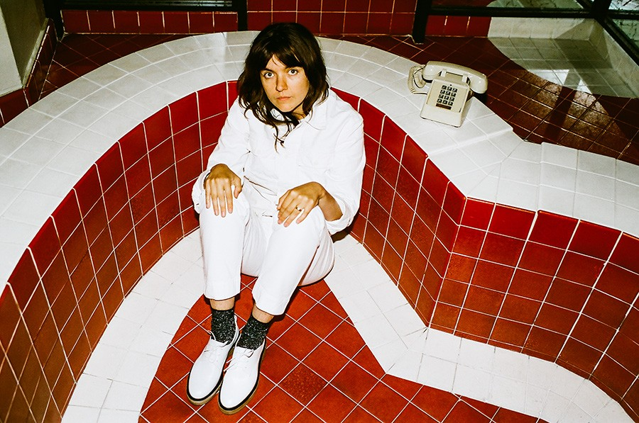 Courtney Barnett plays the Red Stage on Friday at 7:25 PM. - POONEH GHANA