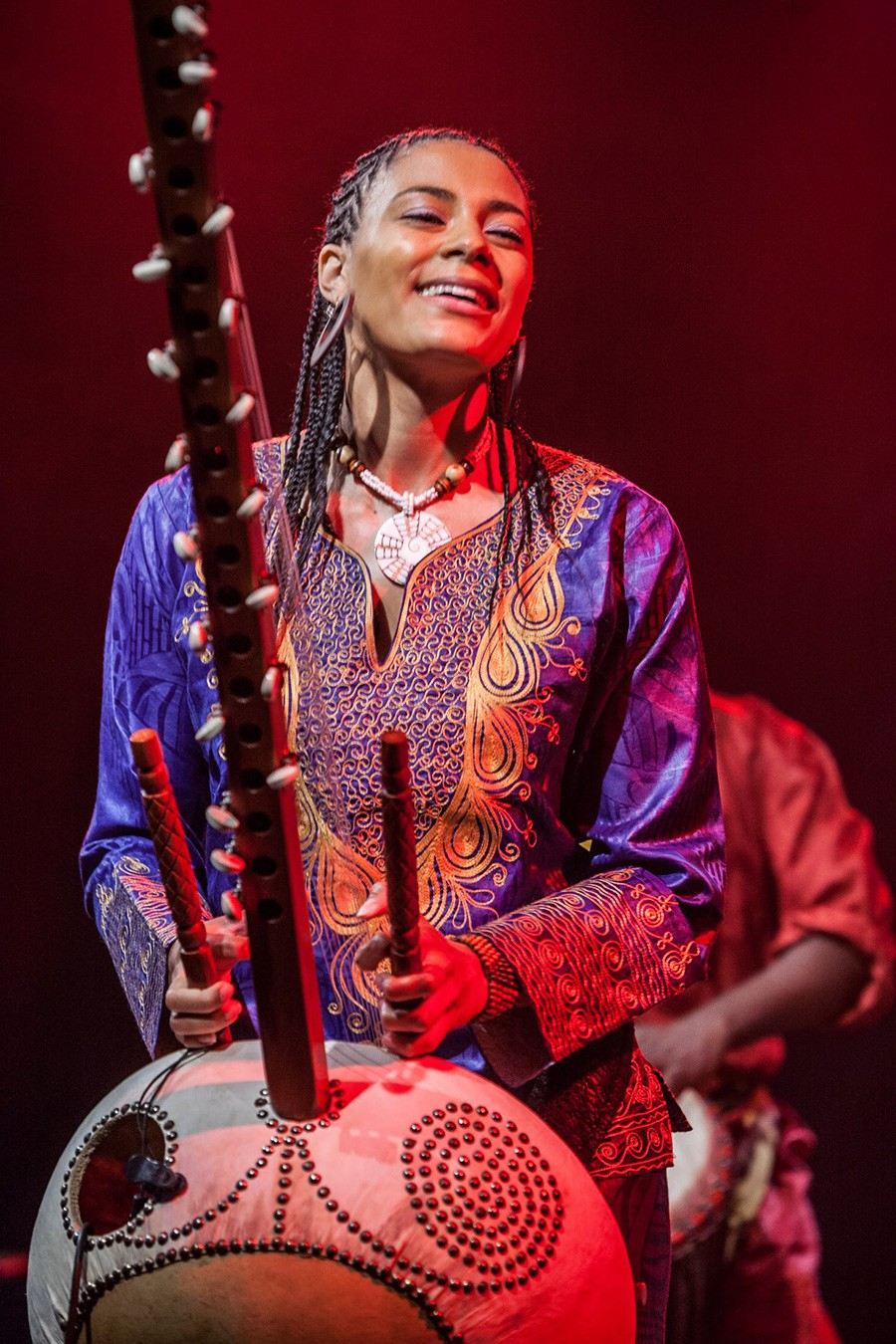 London-born Gambian kora player Sona Jobarteh - COURTESY THE ARTIST