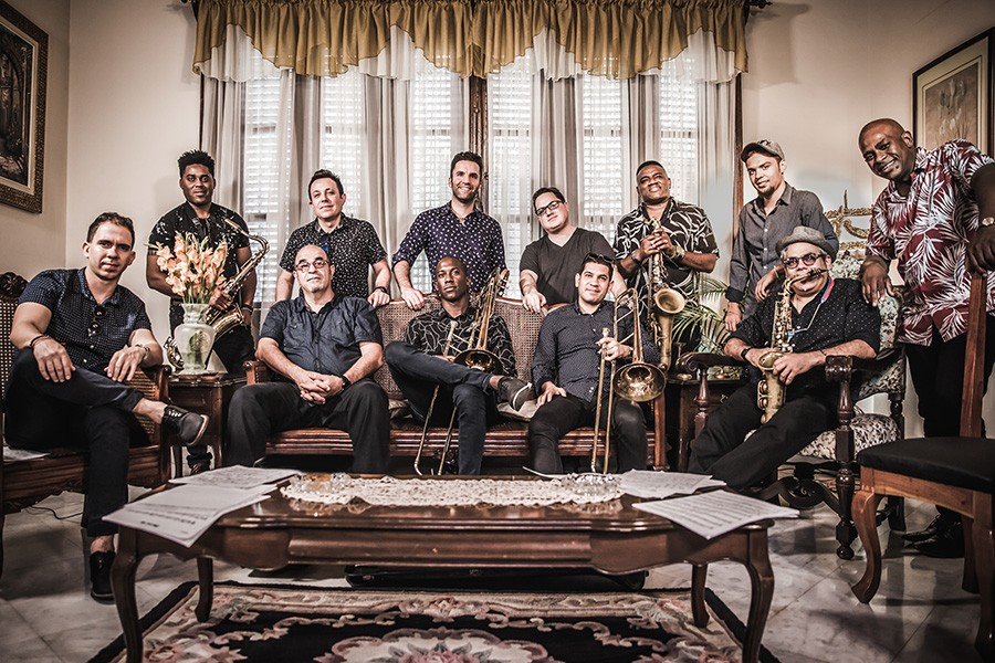 Orquesta Akokán formed in Havana, Cuba, in 2016. - ADRIEN H. TILLMAN