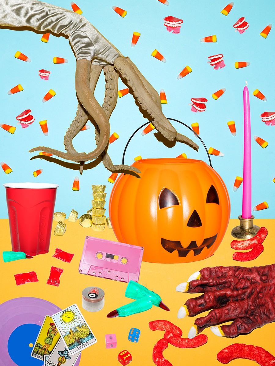 The forecast calls for spooky with a chance of candy corn. - PHOTO COLLAGE BY COLLEEN DURKIN