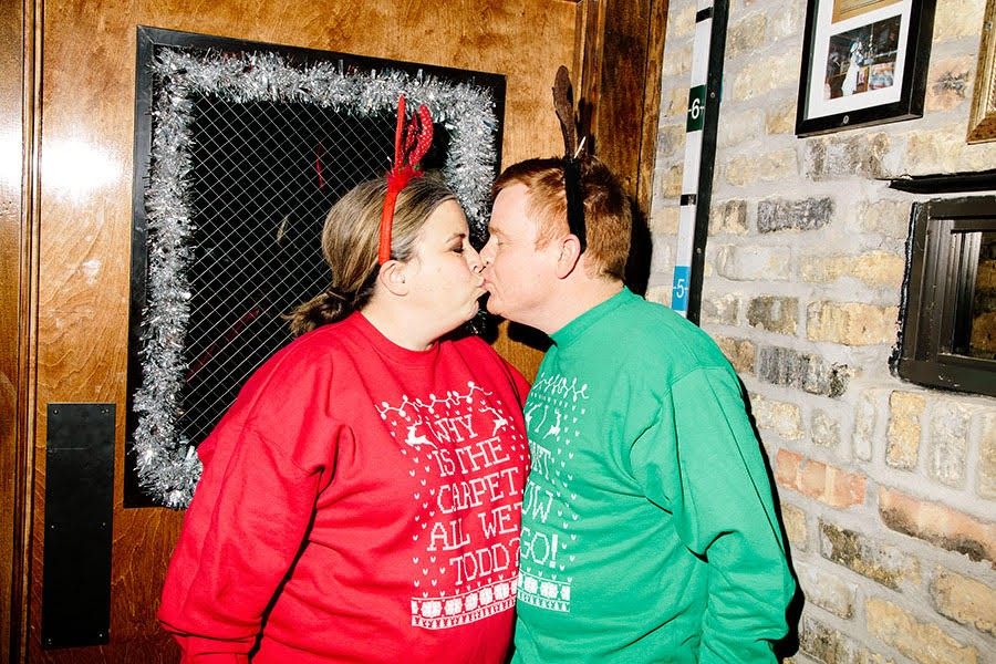 'Tis the season for Christmas Vacation couples sweaters. - MATTHEW SCHWERIN