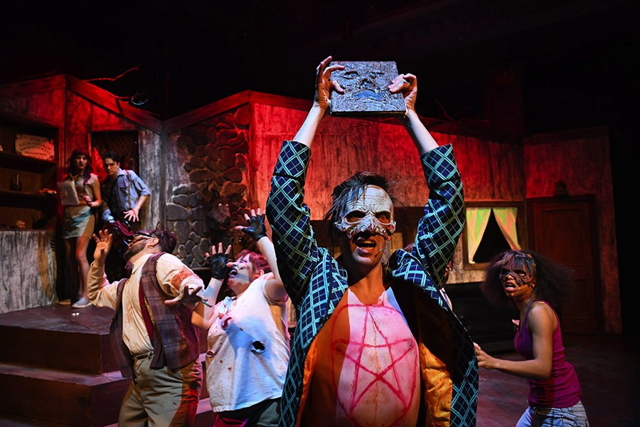 evil dead the musical review