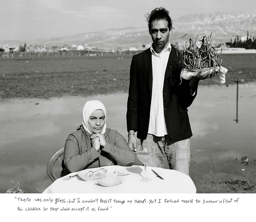 Omar Imam, Live, Love, Refugee, 2015 - COURTESY THE ARTIST AND CATHERINE EDELMAN GALLERY