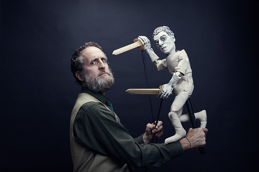 For 30 years, puppeteer Blair Thomas has been creating