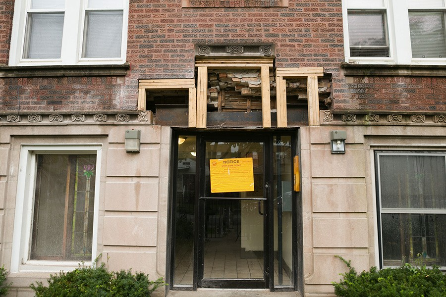 A Pangea building in East Chatham was cited by the city for building code violations in October 2018. - TRAVIS ROOZÉE