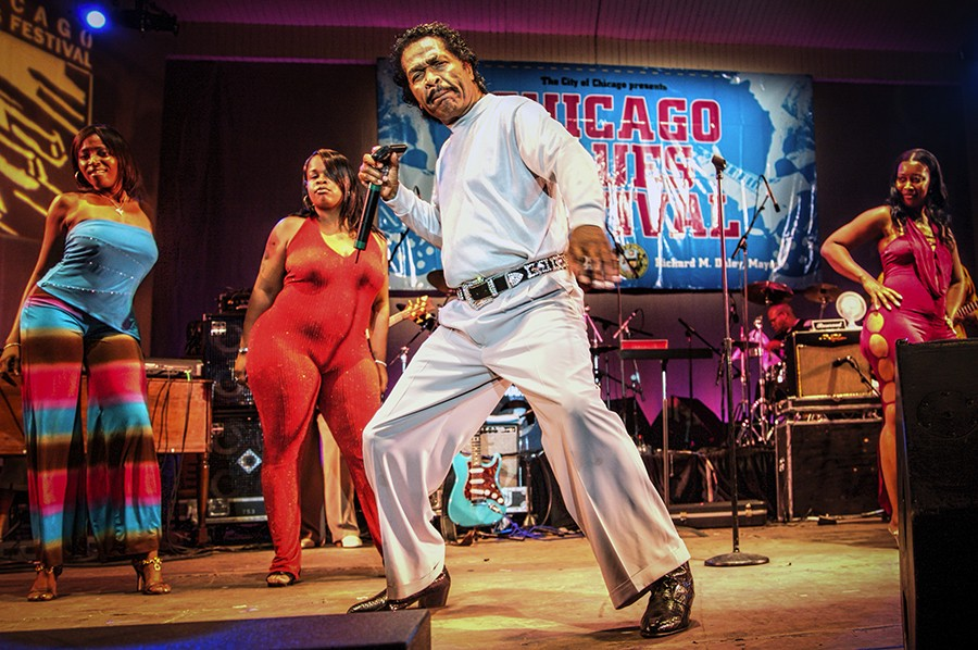 Bobby Rush, pictured here at the 2007 Blues Festival, performs Friday at Jay Pritzker Pavilion. - MICHAEL JACKSON