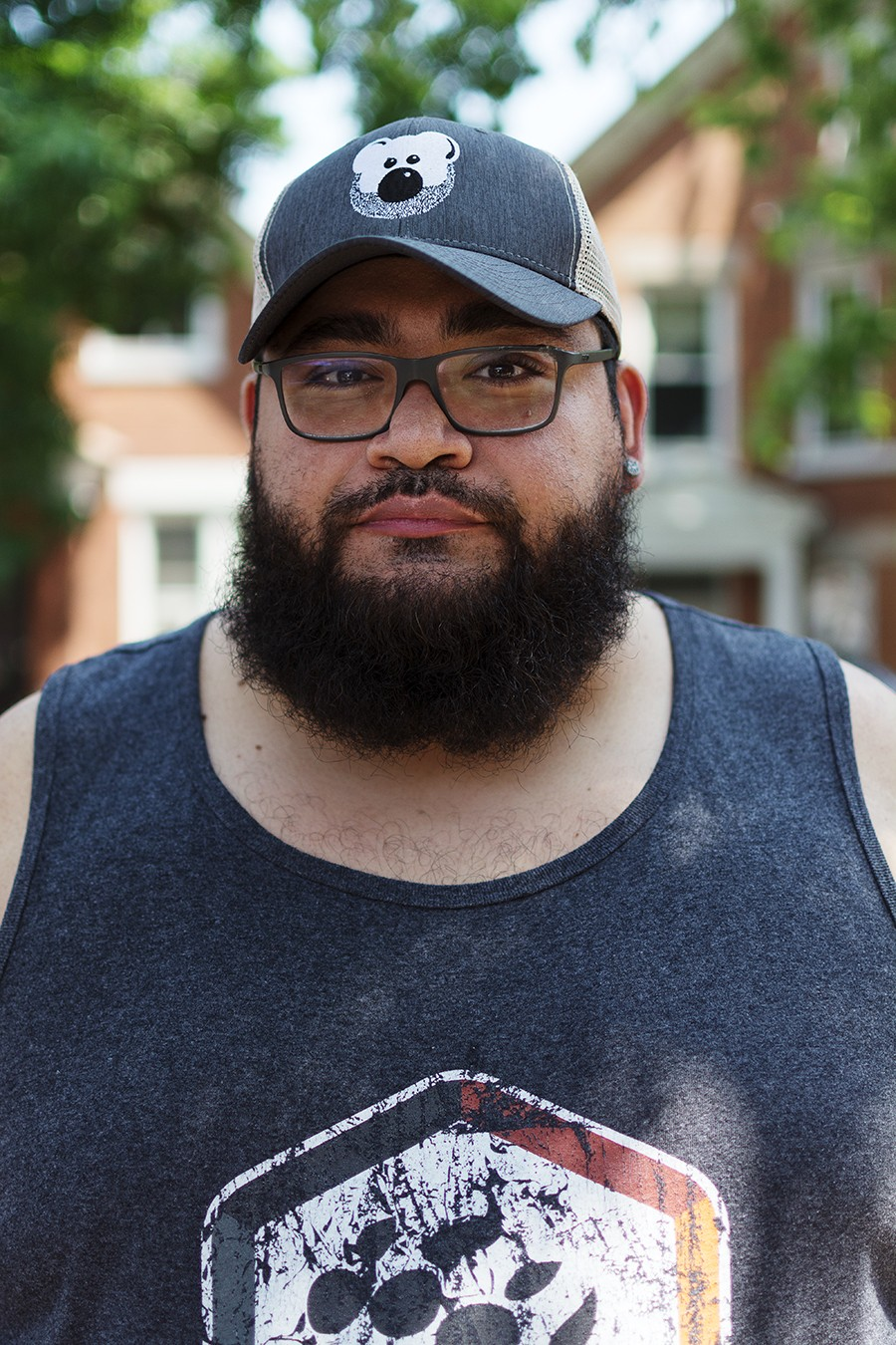 Freddy Miranda: Dyke March is important to me because it's an opportunity for people to come together and be able to express who they are across various gender expressions in different communities that aren't so corporate, [or] sexualized as the Pride Parade in Boystown. - ROBYN DAY